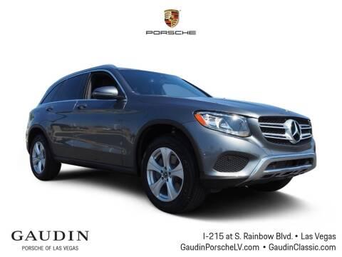2018 Mercedes-Benz GLC for sale at Gaudin Porsche in Las Vegas NV