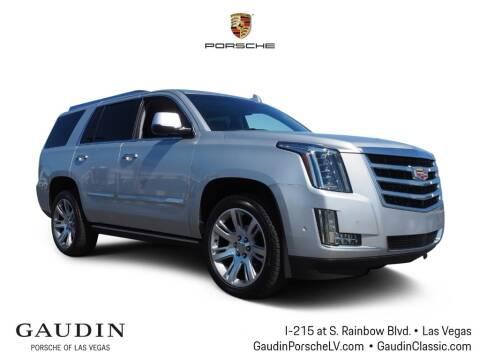 2019 Cadillac Escalade for sale at Gaudin Porsche in Las Vegas NV