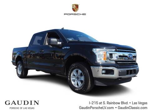 2020 Ford F-150 for sale at Gaudin Porsche in Las Vegas NV