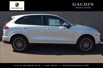 2017 Porsche Cayenne for sale in Las Vegas, NV