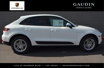 2017 Porsche Macan for sale in Las Vegas, NV