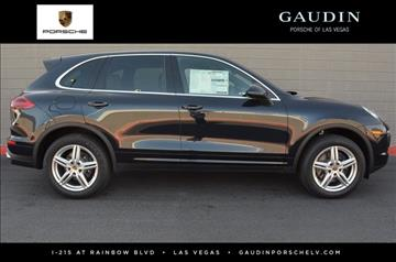 2017 Porsche Cayenne for sale in Las Vegas, NV