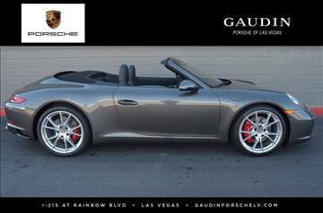 2017 Porsche 911 for sale in Las Vegas, NV