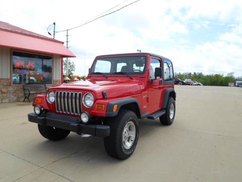 2002 Jeep Wrangler for sale in Lake Villa, IL