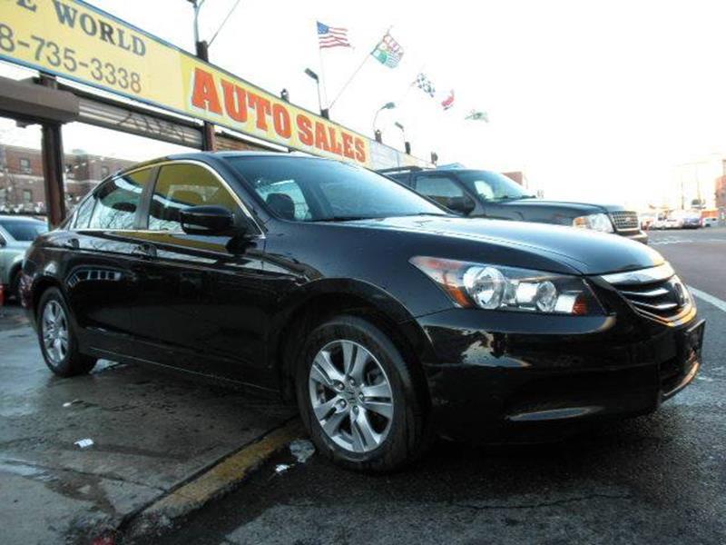 2012 Honda Accord SE 4dr Sedan In Brooklyn NY - WIDE WORLD INC