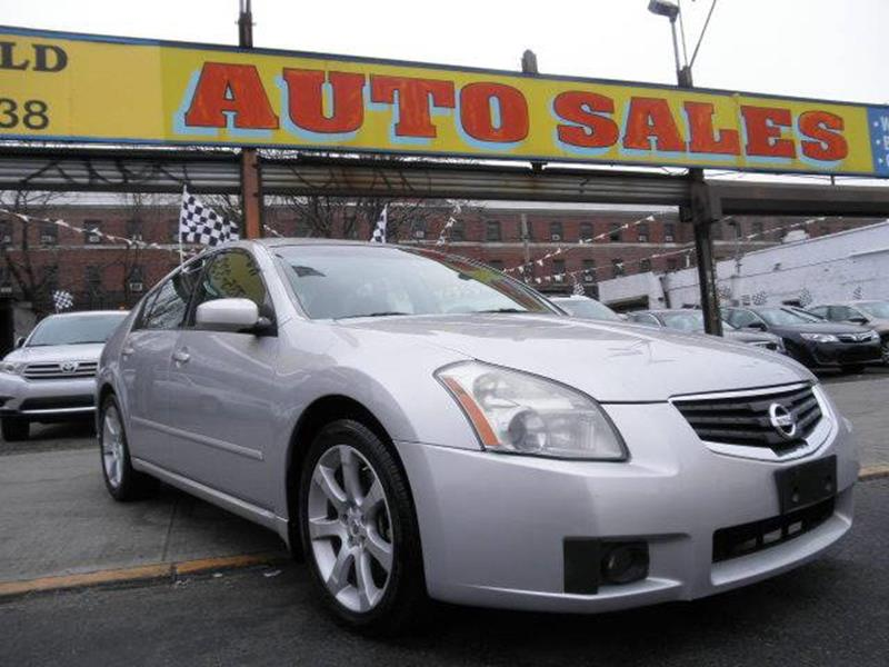 2007 Nissan Maxima 3.5 SE 4dr Sedan In Brooklyn NY - WIDE WORLD INC