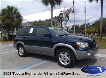 2004 Toyota Highlander for sale in Bonita Springs, FL