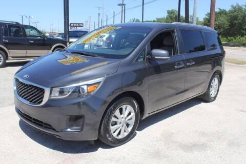 2016 Kia Sedona for sale at Flash Auto Sales in Garland TX
