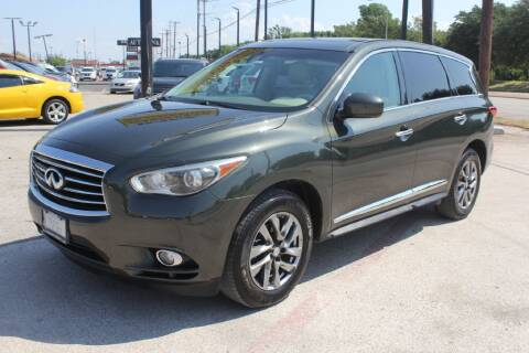 2013 Infiniti JX35 for sale at Flash Auto Sales in Garland TX