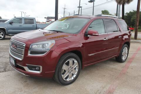 2015 GMC Acadia for sale at Flash Auto Sales in Garland TX