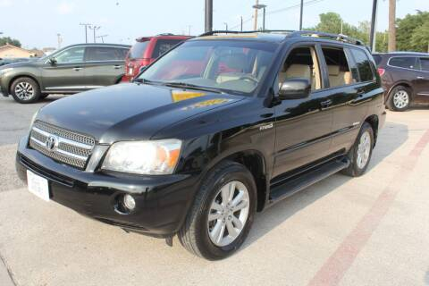 2006 Toyota Highlander Hybrid for sale at Flash Auto Sales in Garland TX