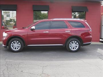 2014 Dodge Durango for sale at Tjelmeland Laketown Automotive in Springfield IL