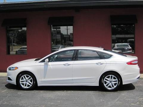 2015 Ford Fusion for sale at Tjelmeland Laketown Automotive in Springfield IL