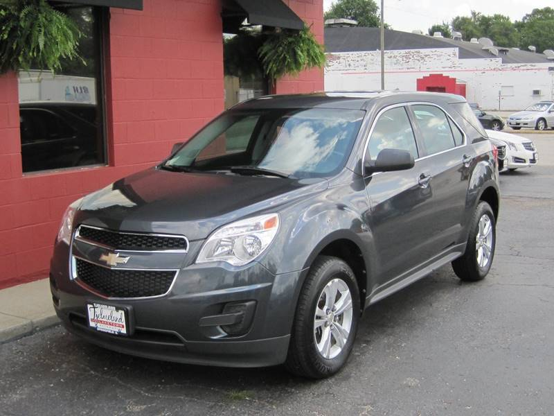 2011 Chevrolet Equinox for sale at Tjelmeland Laketown Automotive in Springfield IL