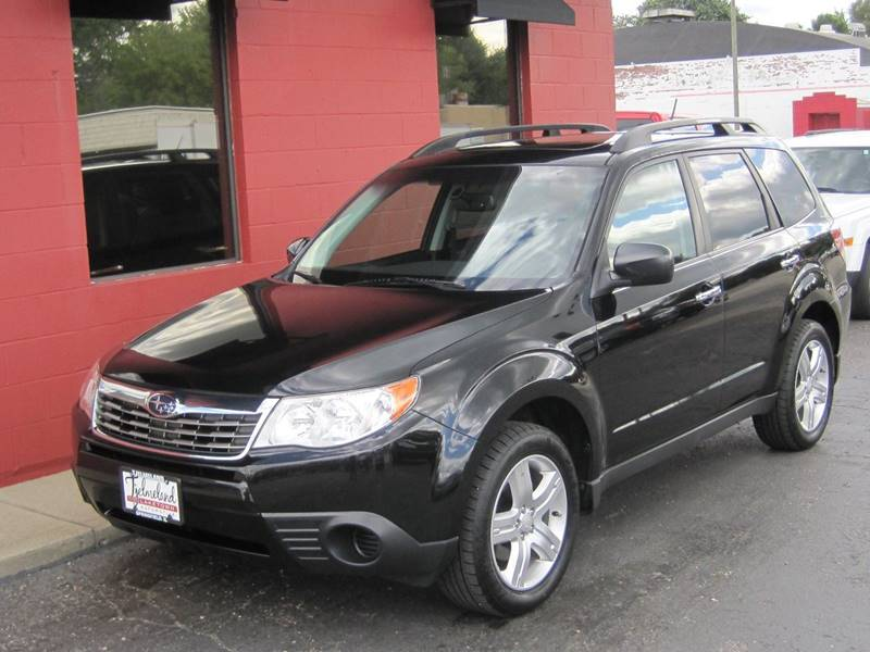 2010 Subaru Forester for sale at Tjelmeland Laketown Automotive in Springfield IL