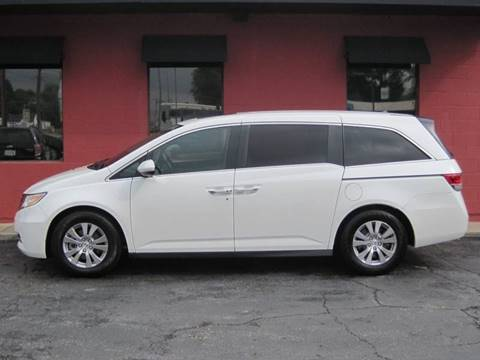 2015 Honda Odyssey for sale at Tjelmeland Laketown Automotive in Springfield IL