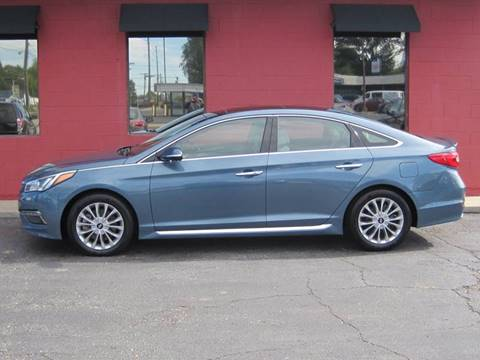 2015 Hyundai Sonata for sale at Tjelmeland Laketown Automotive in Springfield IL