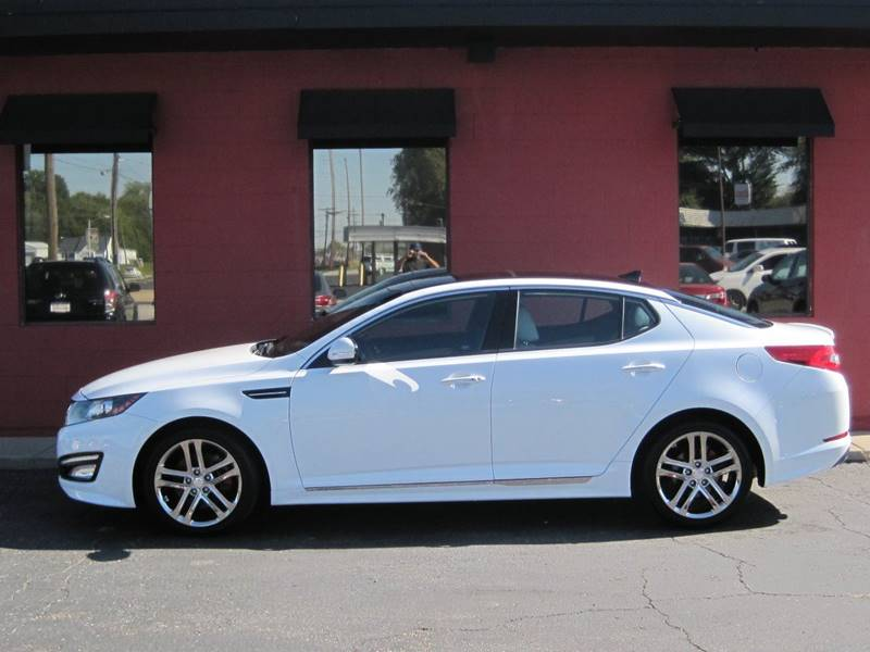 2013 Kia Optima for sale at Tjelmeland Laketown Automotive in Springfield IL