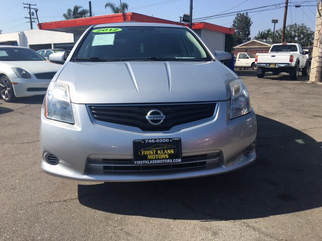 2012 Nissan Sentra 2.0 4dr Sedan CVT - Downey CA