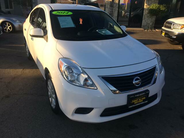2014 Nissan Versa 1.6 SV 4dr Sedan - Downey CA