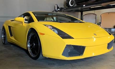 Used 2006 Lamborghini Gallardo For Sale In California Carsforsale Com