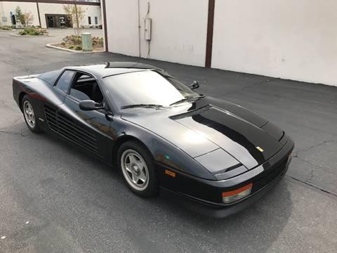 1987 Ferrari Testarossa for sale in Downey, CA