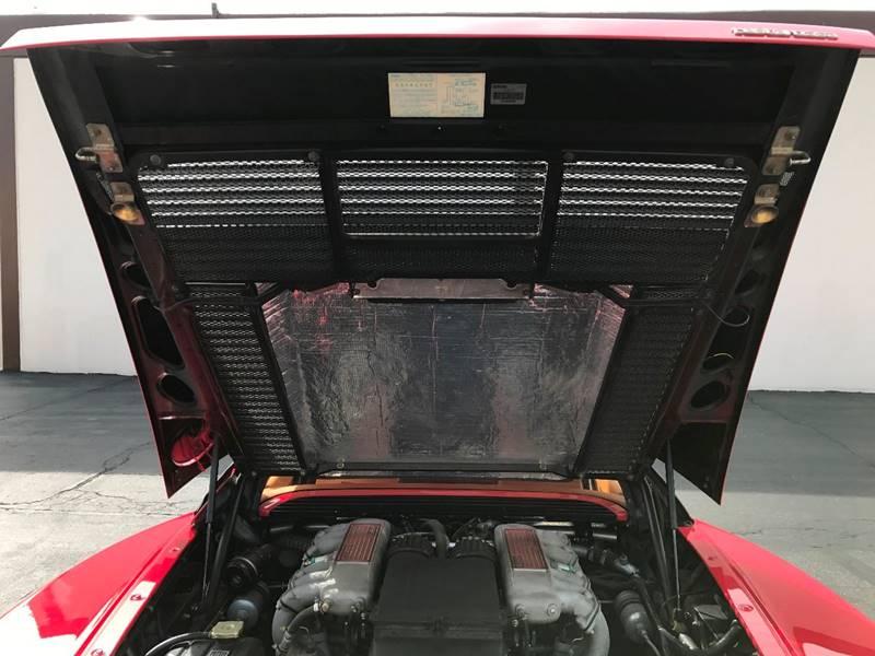 1990 Ferrari Testarossa  - Downey CA