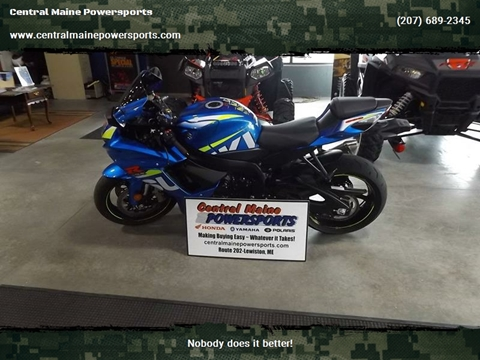 2015 Suzuki GSX-R600 for sale in Lewiston, ME