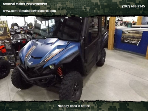2019 Yamaha Wolverine X4 SE for sale in Lewiston, ME
