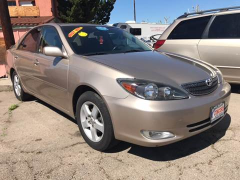 2002 Toyota Camry for sale in El Cajon, CA