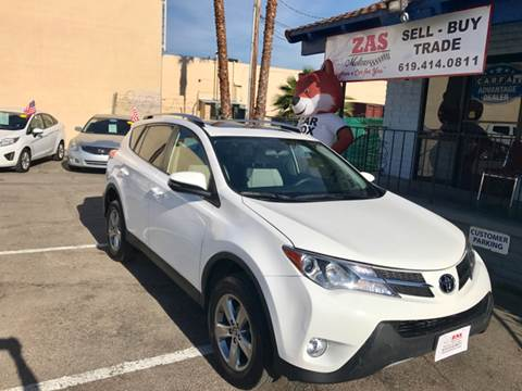 2015 Toyota RAV4 for sale in El Cajon, CA