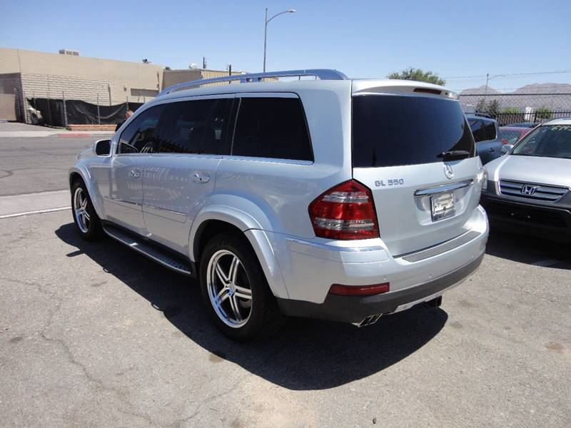 2009 Mercedes-Benz GL-Class AWD GL 550 4MATIC 4dr SUV - Las Vegas NV