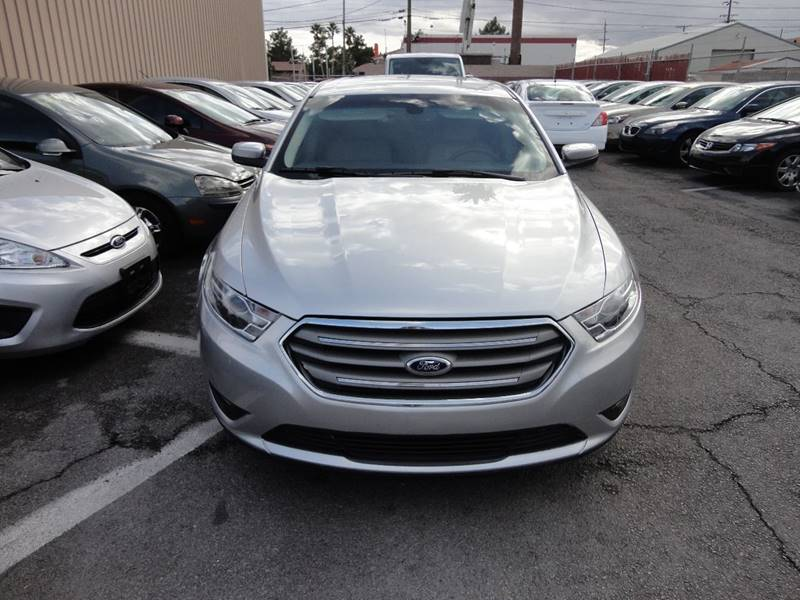 2015 Ford Taurus for sale at CONTRACT AUTOMOTIVE in Las Vegas NV