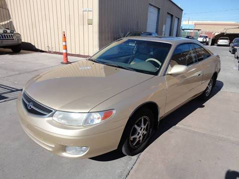 2000 Toyota Camry Solara for sale at CONTRACT AUTOMOTIVE in Las Vegas NV
