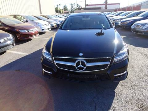 2014 Mercedes-Benz CLS for sale at CONTRACT AUTOMOTIVE in Las Vegas NV