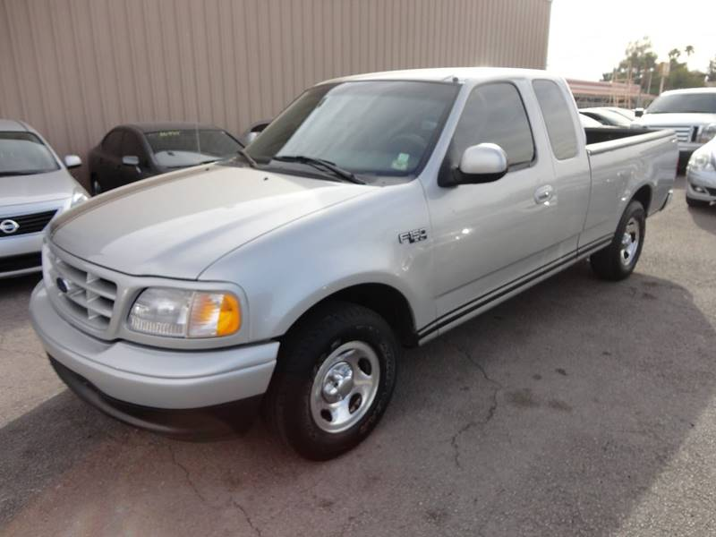 2002 Ford F-150 for sale at CONTRACT AUTOMOTIVE in Las Vegas NV