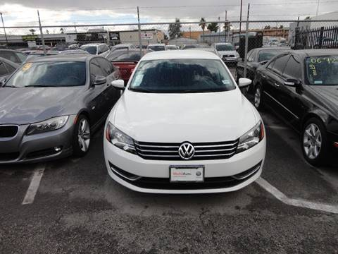 2012 Volkswagen Passat for sale at CONTRACT AUTOMOTIVE in Las Vegas NV