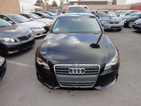 2011 Audi A4 for sale at CONTRACT AUTOMOTIVE in Las Vegas NV