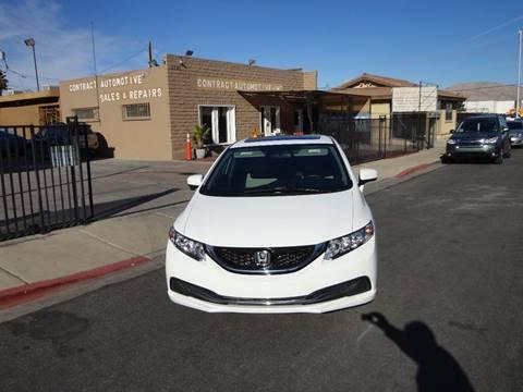 2015 Honda Civic for sale in Las Vegas, NV