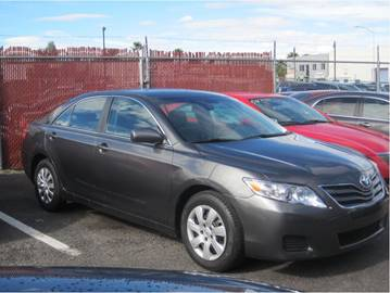 2010 Toyota Camry for sale at CONTRACT AUTOMOTIVE in Las Vegas NV