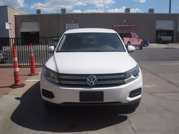 2013 Volkswagen Tiguan for sale at CONTRACT AUTOMOTIVE in Las Vegas NV