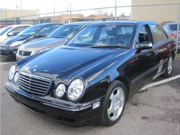 2001 Mercedes-Benz E-Class for sale at CONTRACT AUTOMOTIVE in Las Vegas NV