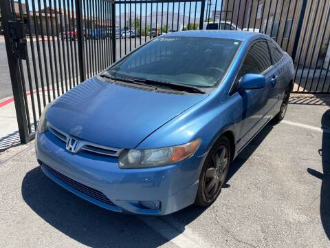 2006 Honda Civic for sale at CONTRACT AUTOMOTIVE in Las Vegas NV