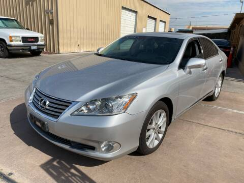 2010 Lexus ES 350 for sale at CONTRACT AUTOMOTIVE in Las Vegas NV