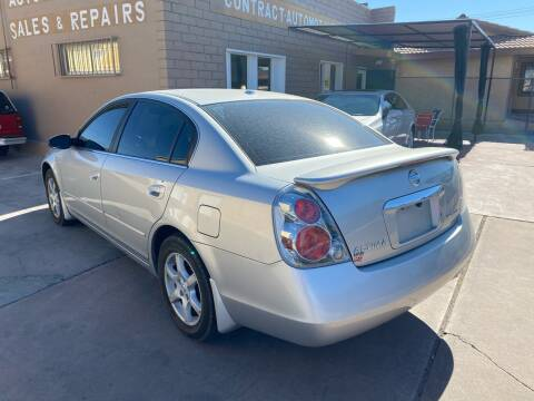 2006 Nissan Altima for sale at CONTRACT AUTOMOTIVE in Las Vegas NV
