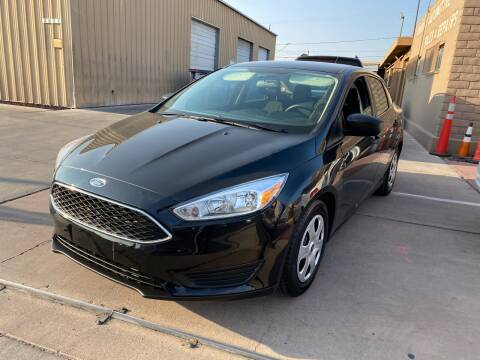 2018 Ford Focus for sale at CONTRACT AUTOMOTIVE in Las Vegas NV