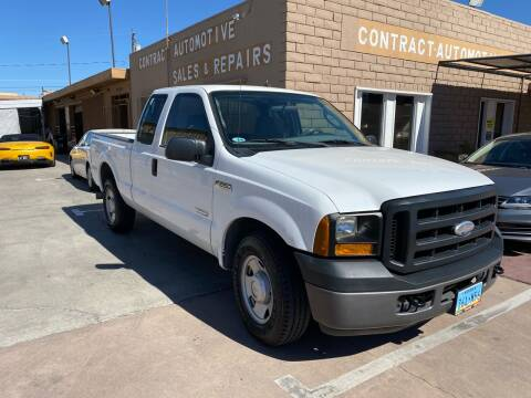 2006 Ford F-250 Super Duty for sale at CONTRACT AUTOMOTIVE in Las Vegas NV