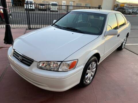2001 Toyota Camry for sale at CONTRACT AUTOMOTIVE in Las Vegas NV