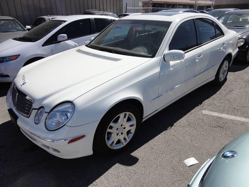 2003 Mercedes-Benz E-Class E320 4dr Sedan - Las Vegas NV