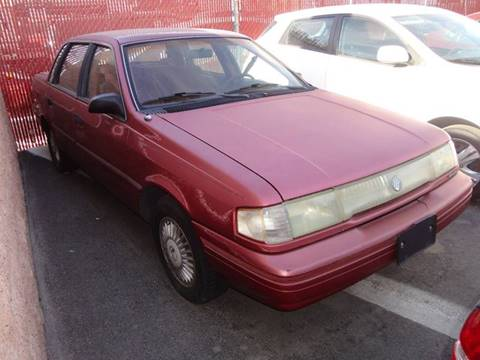 1992 Mercury Topaz for sale at CONTRACT AUTOMOTIVE in Las Vegas NV